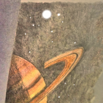 """Saturn"" drawing by Robert Chapman"