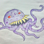 Ultros tentacle creature photograph