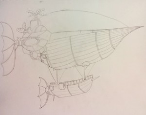 Final Fantasy Airship