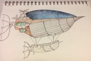 Colored Airship