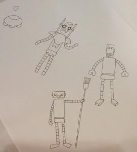 RobotDoodles