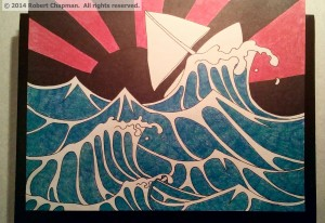 "Photo of ""Rough Waters"""