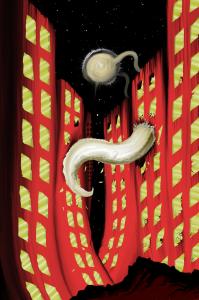 Destroyed Alien City
