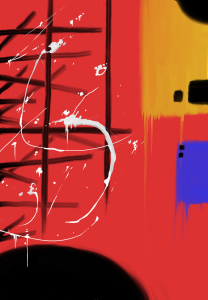 Splatter Drip Painting