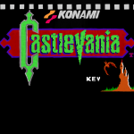 Painted Castlevania title screen