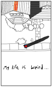 First page of a web comic by Robert Chapman
