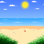 Sunny Beach by Robert Chapman