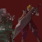 Final Fantasy 7 pattern by Robert Chapman