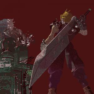 Final Fantasy 7 pattern by Robert Chapman