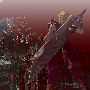 Final Fantasy 7 pattern complete by Robert Chapman
